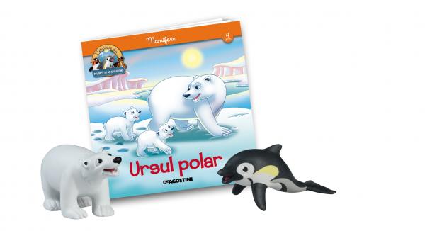 Revista Vieţuitoare din mări şi oceane – Nr.4 – Ursul polar Paco + puiul de delfin Didi 0