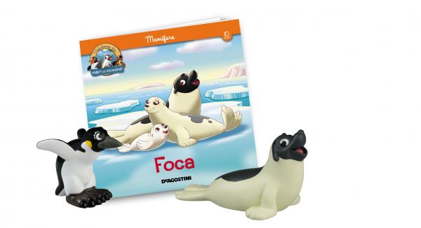 Revista Vieţuitoare din mări şi oceane – Nr.10 – Foca Phil + mama pinguin imperial 0