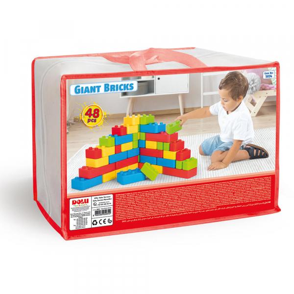 Cuburi gigant - 48 piese 4