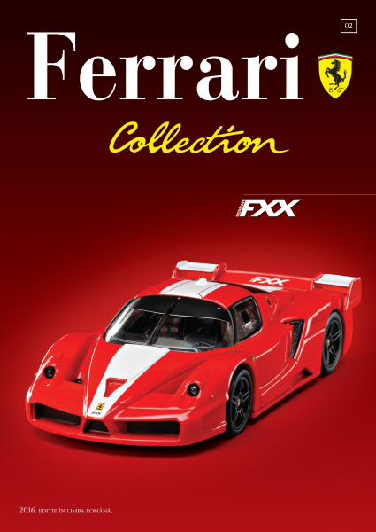 Ferrari Collection Nr. 2 - Ferrari FXX + Şapcă 1