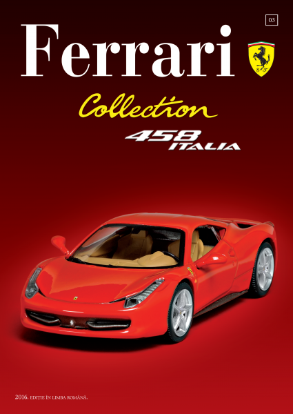Ferrari Collection Nr. 3 - Ferrari 458 Italia + Şapcă 1