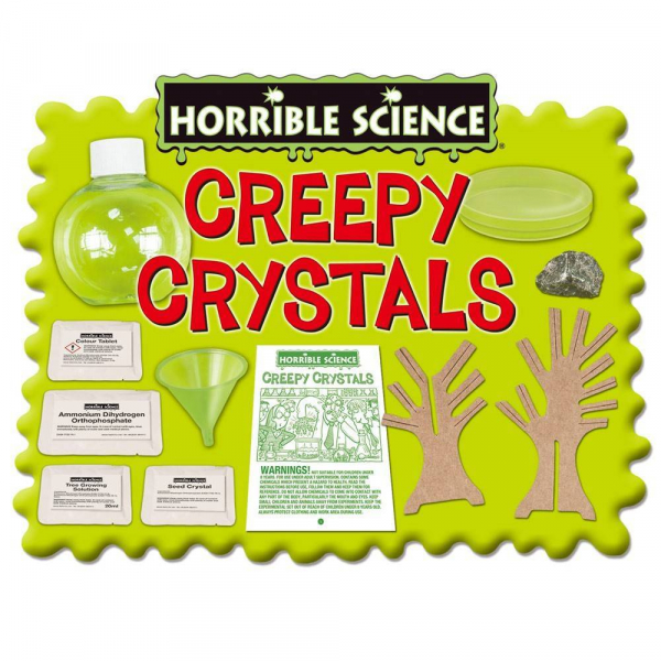 Horrible Science: Cristale ciudate 2