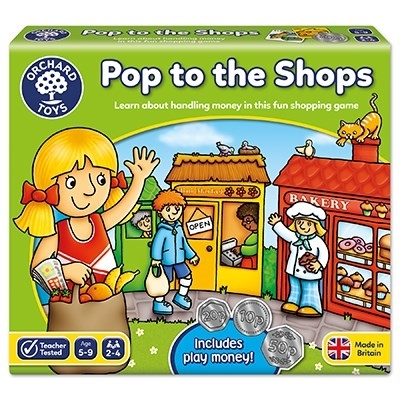 Joc educativ La cumparaturi POP TO THE SHOPS 2