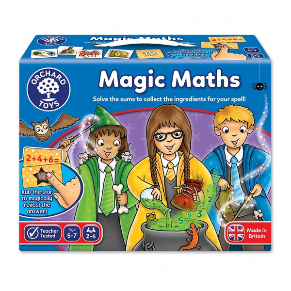Joc educativ Magia Matematicii MAGIC MATH 4