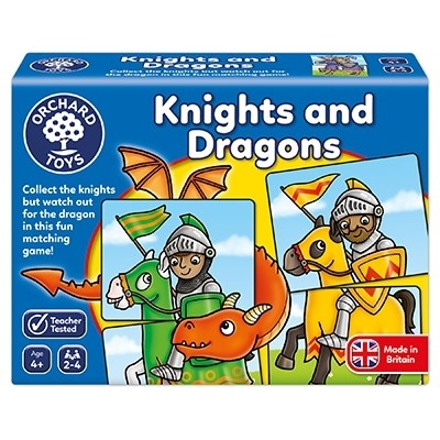 Joc educativ - puzzle Cavaleri si Dragoni KNIGHTS AND DRAGONS 0