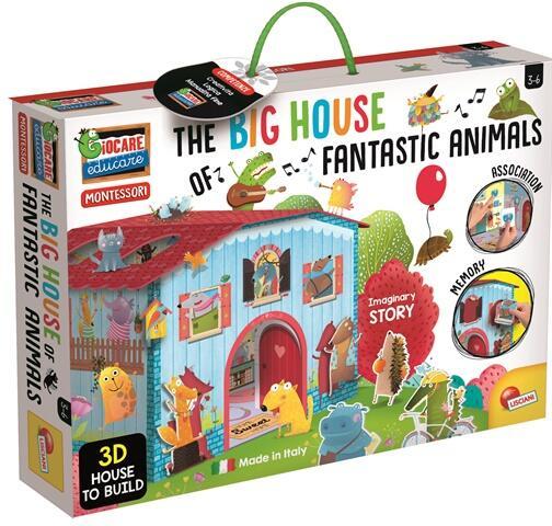 Joc Montessori - Casuta animalelor fantastice 0
