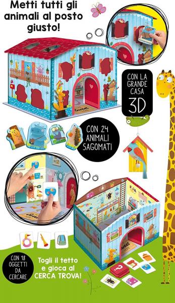 Joc Montessori - Casuta animalelor fantastice 1