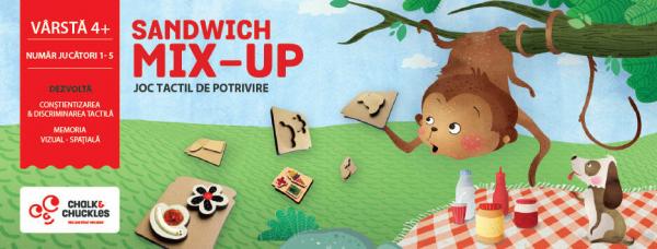Joc tactil - Sandwich Mix Up 4