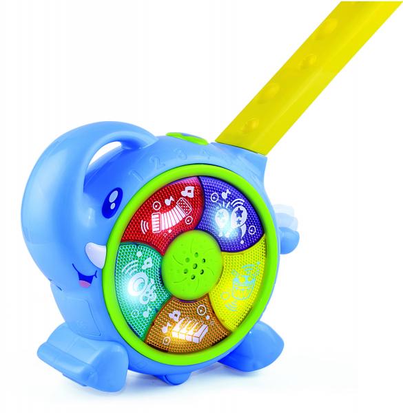 Jucarie de impins 2 in 1 - Elefantel [10]