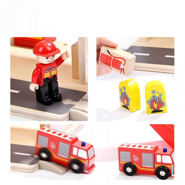 Jucarie de rol - Statie de pompieri [8]