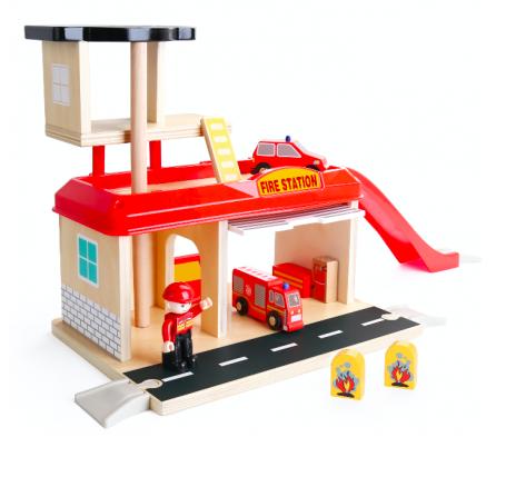 Jucarie de rol - Statie de pompieri [5]