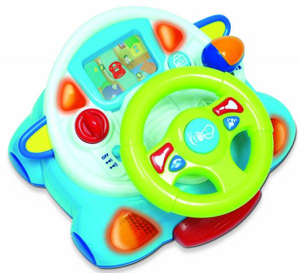 Jucarie interactiva - Primul meu volan [4]