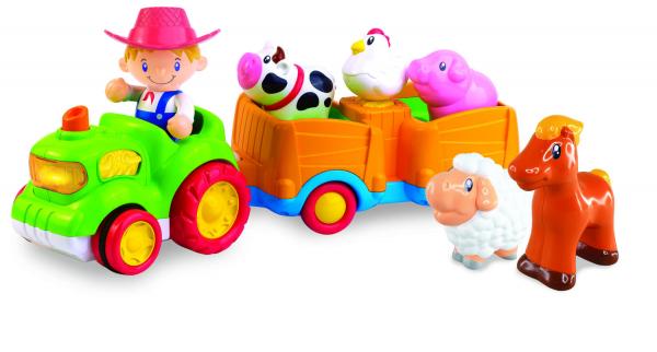 Jucarie muzicala - Tractorul de la ferma [5]