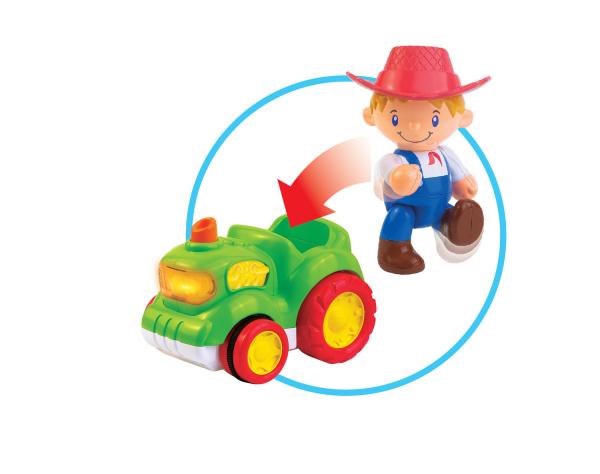 Jucarie muzicala - Tractorul de la ferma [8]