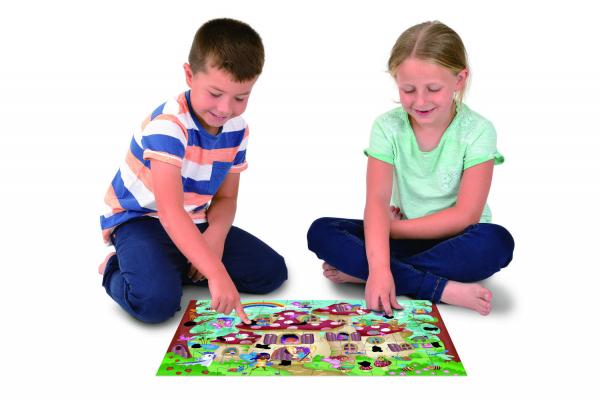 Magic Puzzle - Palatul zanelor (50 piese) [3]
