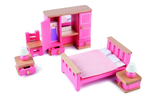 Mobilier dormitor pentru casuta papusii [1]