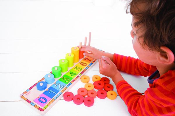 Numaratoare cu discuri colorate 5