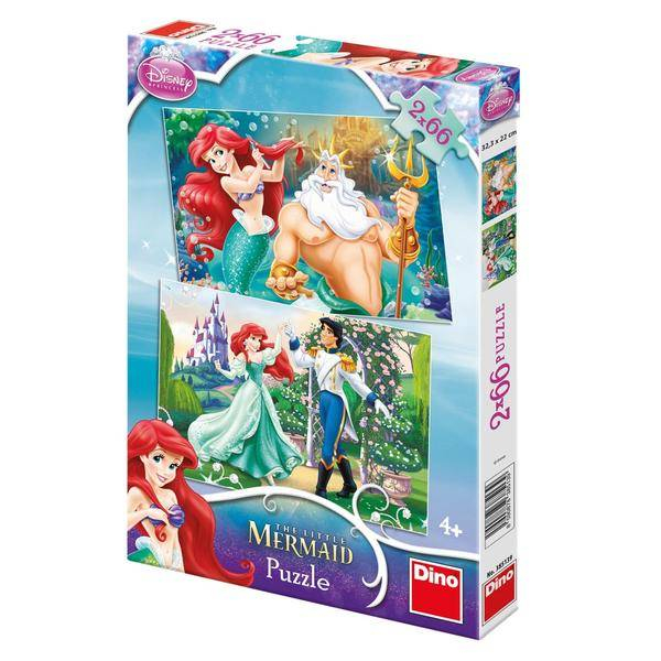 Puzzle 2 in 1 - Ariel (66 piese) 0