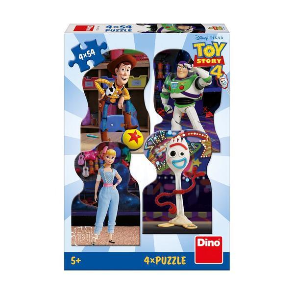 Puzzle 4 in 1 - TOY STORY 4 (54 piese) 1