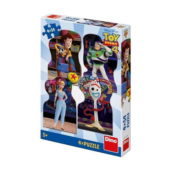 Puzzle 4 in 1 - TOY STORY 4 (54 piese) 0