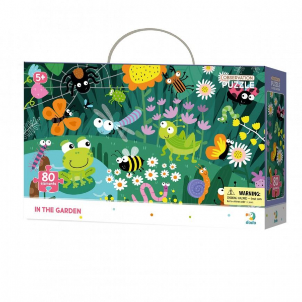 Puzzle - In gradina (80 piese) [0]