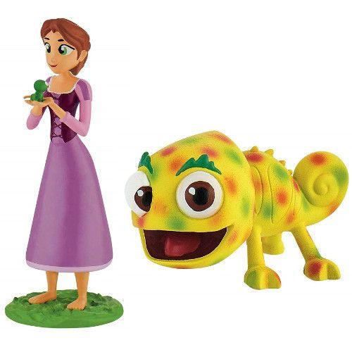 Set Rapunzel cu parul scurt - 2 figurine 1