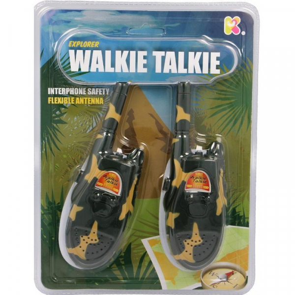 Set Walkie Talkie - Micul Explorator 0