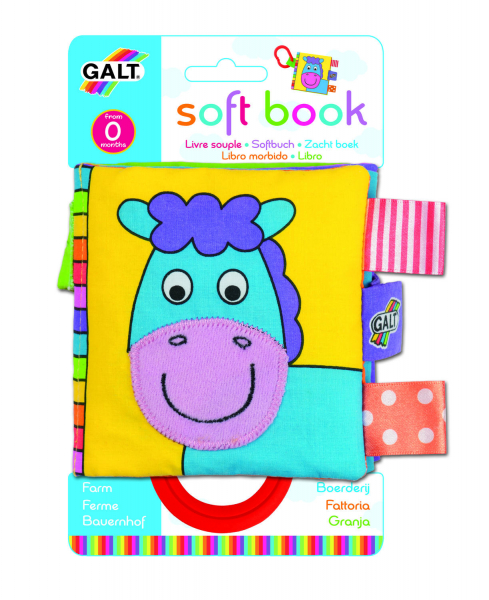 Soft Book: Carticica moale Farm 2