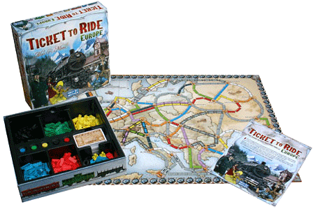 Ticket to ride - Europa 0