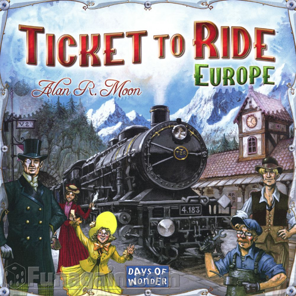 Ticket to ride - Europa 3