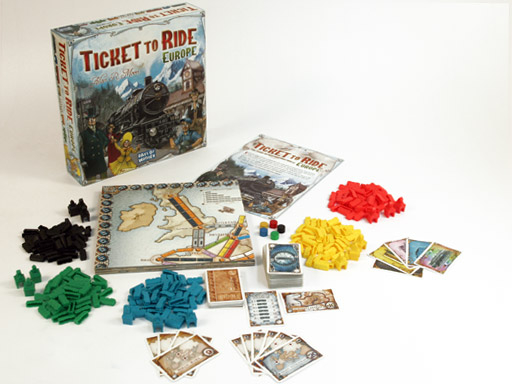 Ticket to ride - Europa 1