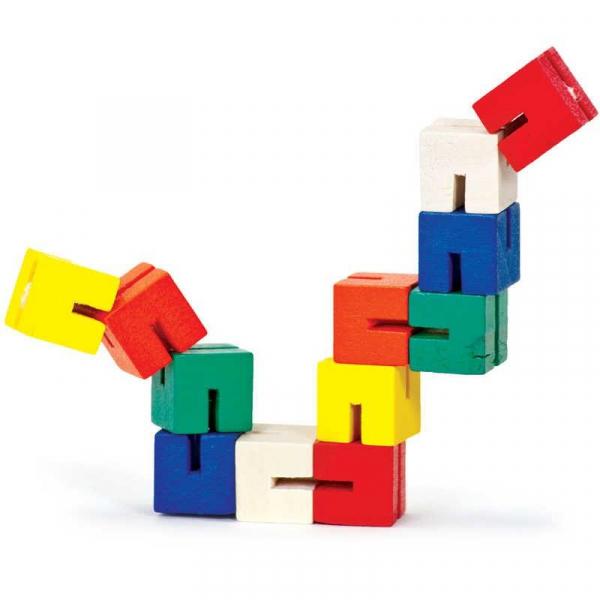 Twist Blocks din lemn 0