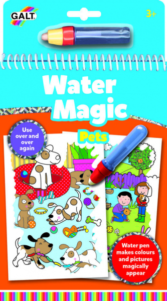 Water Magic: Carte de colorat Animale de companie 0