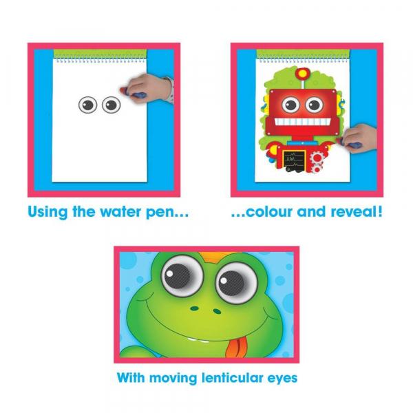 Water Magic: Carte de colorat Ghici cine-i acolo? 4