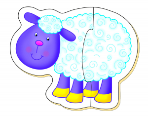 Baby Puzzle: Ferma (2 piese) [2]