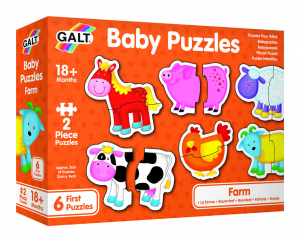 Baby Puzzle: Ferma (2 piese) [7]