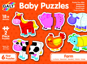 Baby Puzzle: Ferma (2 piese) [8]