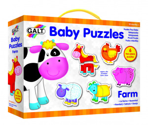 Baby Puzzle: Ferma (2 piese) [1]