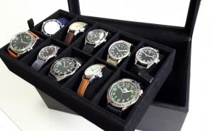 Casetă - vitrină pentru ceasuri sau bijuterii2