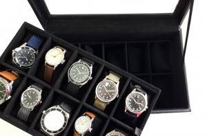 Casetă - vitrină pentru ceasuri sau bijuterii1
