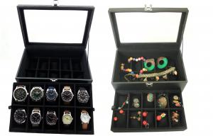 Casetă - vitrină pentru ceasuri sau bijuterii3