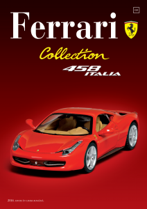 Ferrari Collection Nr. 3 - Ferrari 458 Italia + Şapcă1