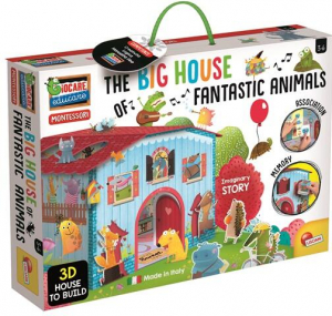 Joc Montessori - Casuta animalelor fantastice0