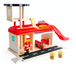 Jucarie de rol - Statie de pompieri [0]