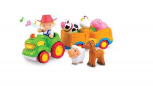 Jucarie muzicala - Tractorul de la ferma [3]