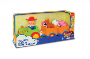 Jucarie muzicala - Tractorul de la ferma [7]