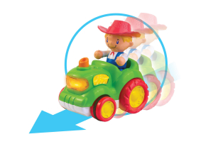 Jucarie muzicala - Tractorul de la ferma [4]