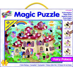 Magic Puzzle - Palatul zanelor (50 piese) [2]