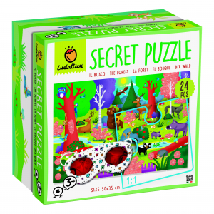 Secret Puzzle - Pădurea0