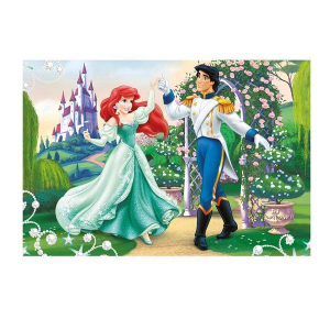 Puzzle 2 in 1 - Ariel (66 piese)1